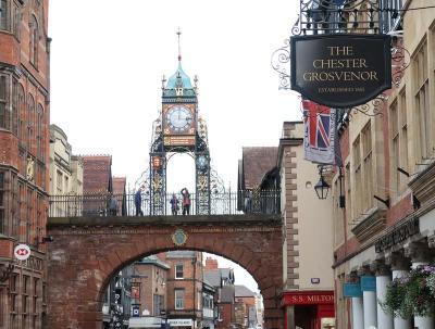 イギリス縦断11日間・・・・3)中世の城塞都市・チェスター