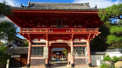 車の車検待ち時間に、昆陽寺にお参りし付近の散策しました 下巻。