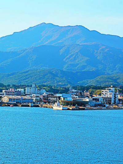 新潟⇒両津 佐渡海峡航路-2時間30分-日本海フェリー ☆ときわ丸 着岸15:05/下船
