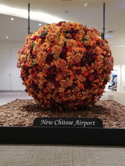 秋の札幌でグルメ&街歩き(6)「新千歳空港」
