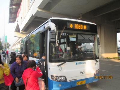 上海の新場古鎮・地下鉄16号線・路線バス