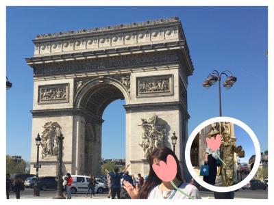 3泊5日 パリ母娘旅