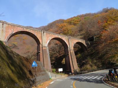 四万温泉から眼鏡橋(群馬安中)・昇仙峡(山梨甲府)から塩尻へ