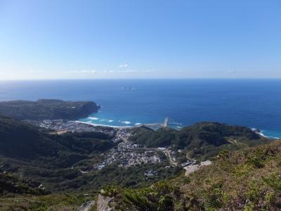 自然豊かな神津島へ**天上山トレッキング**