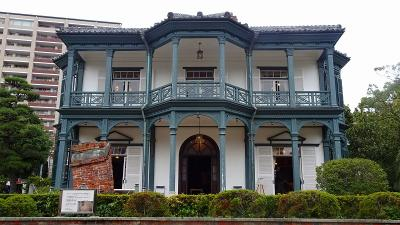 神戸市立相楽園 国重要文化財 旧ハッサム住宅の見学。