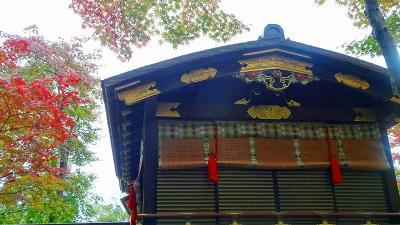 神戸市立相楽園 池泉回遊式日本庭園の紅葉。