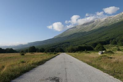 美しき南イタリア旅行♪ Vol.599(第20日)☆パッソ・サン・レオナルド:マイエッラ山脈最高峰Monte Amaro2795m♪