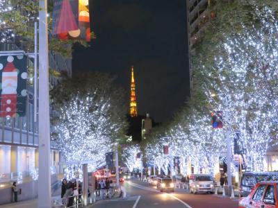 東京日本橋とバスツア-