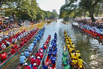 【シェムリアップ2018_03】カンポンプルーク村のクルーズと水祭り