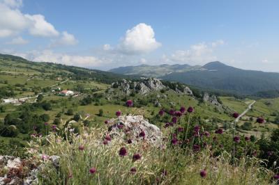 美しき南イタリア旅行♪ Vol.616(第21日)☆美しき山岳村「ピッツォフェッラート」古城跡からの山岳風景♪