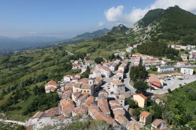 美しき南イタリア旅行♪ Vol.618(第21日)☆美しき山岳村「ピッツォフェッラート」岩山から素晴らしい絶景♪