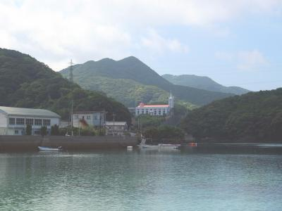 新上五島町を散策する