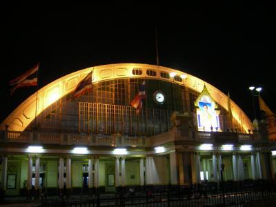 2010 GW タイ、ラオス、ベトナム旅① 夜行列車とバスでラオス国境までの巻