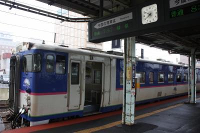 北海道旅行記2018年夏(1)出発とシルバーフェリー乗船と日高本線乗車編