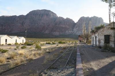 海外まで行って鉄道廃線 アルゼンチン・チリ トランスアンデス鉄道廃線の旅 Day1