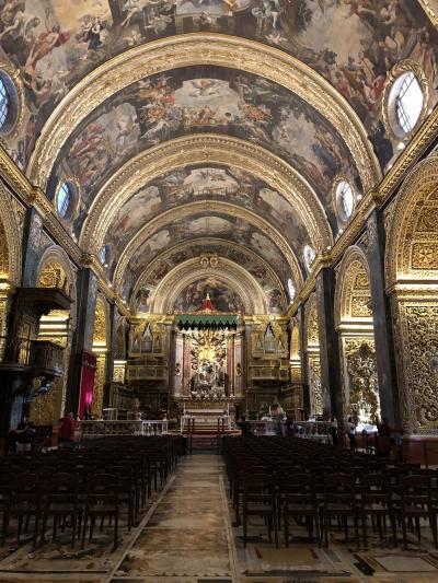 マルタ共和国の世界遺産No. 1 : 要塞都市ヴァレッタの聖ヨハネ大聖堂、マルタ騎士団長宮殿など