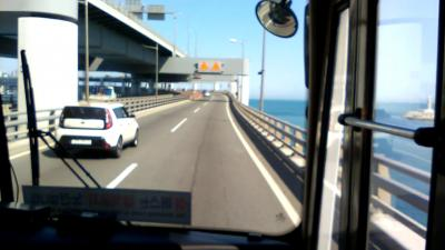 釜山、早春の多大浦港と臨海バス旅