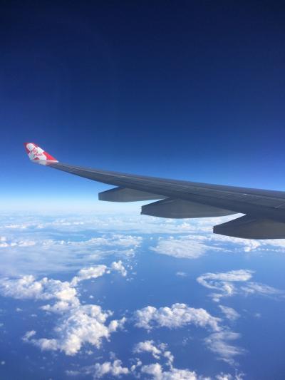 食べて食べるハワイ旅 関空~ハワイ1日目