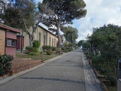 メッシーナでもカラヴァッジョ巡礼。トラムに乗って郊外の美術館までいきました。