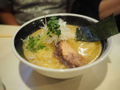 麺が益々細くなった麵屋侍の塩ラーメンとパンク事件