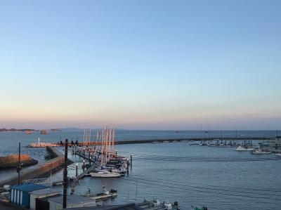回転寿司 塩釜港より 七ヶ浜へ 冬の海を見ながらコーヒータイム