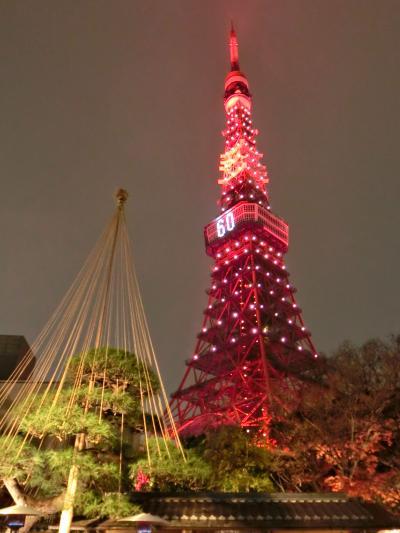 ③【祝60周年】 東京タワーへ遊びに行こう!平成30年12月23日『還暦』(・ω・)/♪