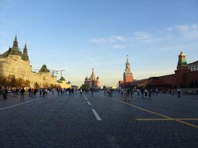 2018年09月ロシア(18) 赤の広場とその周辺