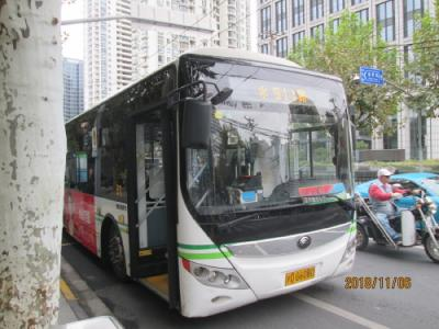 上海の老西門・911路バス・准海中路(路線バス)