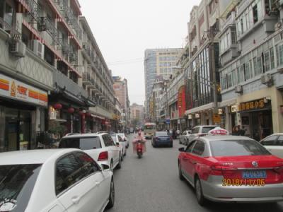 上海の雲南南路・美食街・2018年