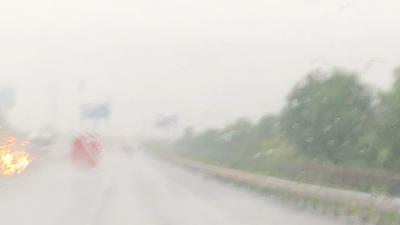 久々のベトナム 台風の真っただ中 朝から大雨なホーチミン