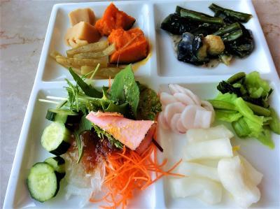 琵琶湖ホテル「ザ・ガーデン」で、一食だけの食事制限解除