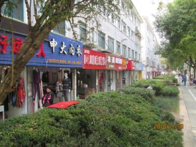 上海の新場古鎮・牌楼東路、西路・地元商店街