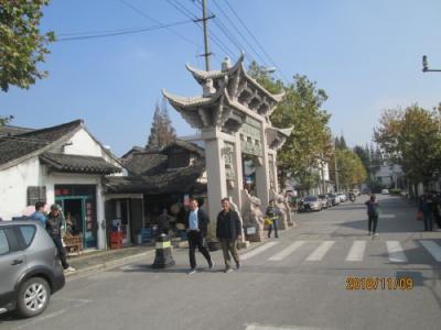 上海の新場古鎮・石笋街・地元商店街
