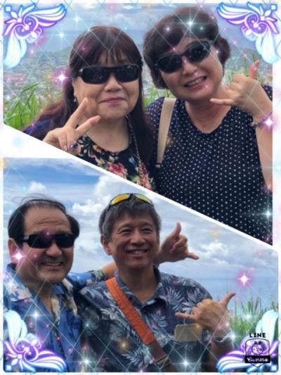 2018年「2人合わせて128歳 結婚36周年記念第3弾 久しぶりのハワイ・今回は初対面のたなしゃんさんご夫妻と」7日目 久しぶりのタンタラスの丘・カハラモールへ