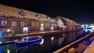 平成30年(2018)11月24日(土)これからの季節は、やっぱり小樽、小樽運河イルミネーションに盛り上がる町を見ながら、小樽バインでワイン片手に酔いしれて
