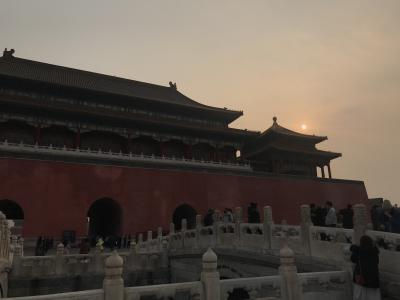 晩秋の中国北京へ ①(天安門と故宮博物館)
