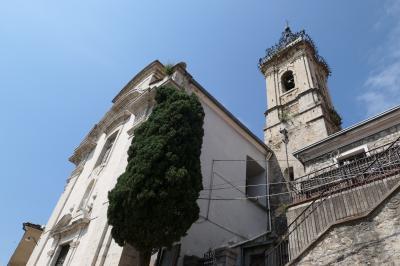 美しき南イタリア旅行♪ Vol.630(第21日)☆Colledimezzo:美しき村「コッレディメッツォ」の大聖堂♪