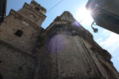 美しき南イタリア旅行♪ Vol.635(第21日)☆Bomba:美しき村「ボンバ」大聖堂の美しい風景♪