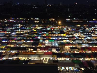 タイ1日目 ナイトマーケット