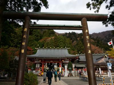大山街道を歩く (大山寺~阿夫利神社下社)