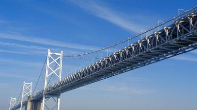チャータークルーズで行く屋久島と五島列島(14) 瀬戸内海クルーズ 瀬戸大橋付近。