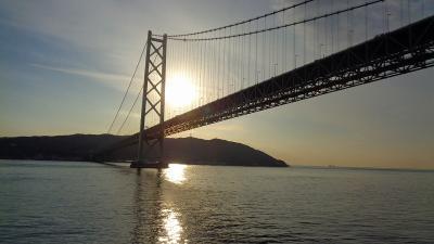 チャータークルーズで行く屋久島と五島列島(15)完 瀬戸内海クルーズ 明石海峡大橋から神戸港に帰港するまで。