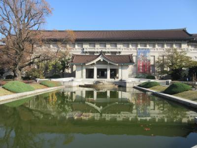 東京国立博物館に行ってきました