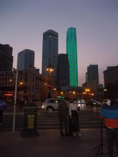 今年3回目の中国は東北地方 その1 大連(中山広場、九州国際大酒店、吉野家、ロシア人街ほか)