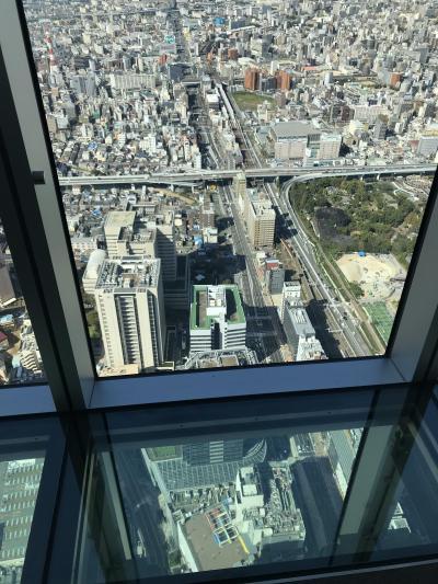 あべのハルカス・海遊館・USJの大阪旅行 2018.10.21-22