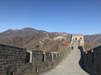 晩秋の中国北京へ ②(慕田峪長城 他)