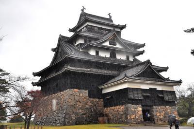 松江城見学と出雲大社参拝
