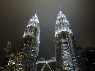 初めてのマレーシア週末4日間2(夜のクアラルンプール)