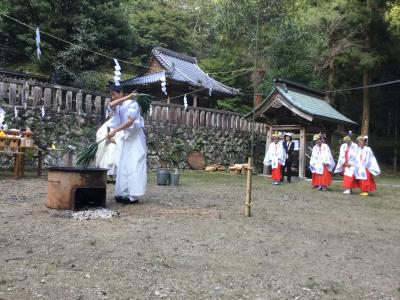 十五社神社⛩秋の大祭と湯かけ神事