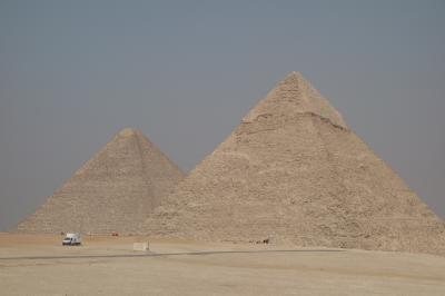 エジプト旅行①(ギザ:ピラミッド・スフィンクス)